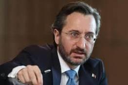 الرئاسة التركية تتهم ماكرون بانتهاج الفاشية ضد المسلمين