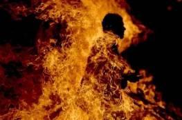 """الأردن.. """"عربي"""" يشعل النار بجسده قرب مقر الحكومة"""