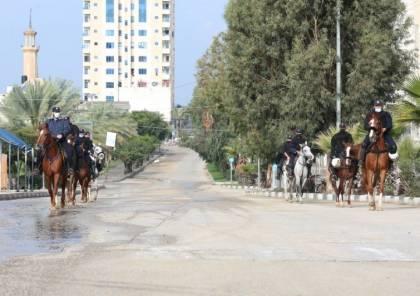شاهد الصور : هكذا بدت شوارع قطاع غزة صباح اليوم