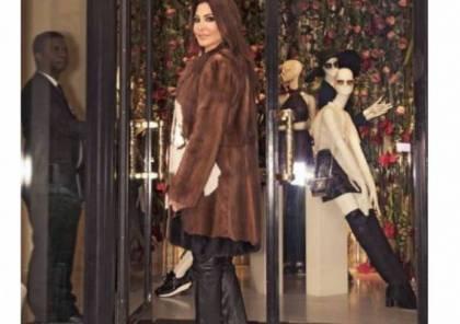 لن تصدقوا كم يبلغ ثمن معطف إليسا الفرو !