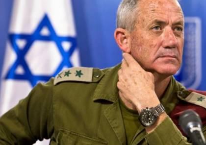 غانتس : تسوية شاملة مع حماس أو حسم عسكري