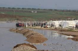 مخيما دير بلوط والمحمدية بسوريا مُهدّدان بفعل فيضان نهر عفرين
