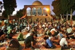 بدء الاعتكاف في المسجد الأقصى المبارك