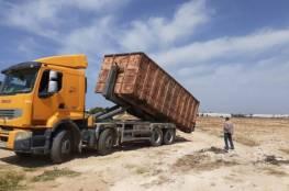 زراعة غزة تتلف (2000) طن خلطة علف