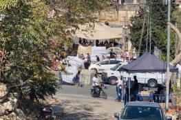 إغلاقات وانتشار للشرطة الاسرائيلية في حي الشيخ جراح