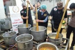 تكايا رمضانية تقدم وجبات إفطار ساخنة يوميا لآلاف الفقراء والمحتاجين بدعم من هيئة الأعمال الخيرية