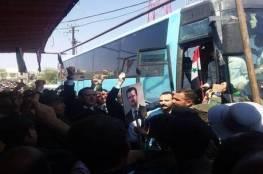 سوريا : الإفراج عن عدد من معتقلي دوما بريف دمشق تنفيذا لوعد من الأسد