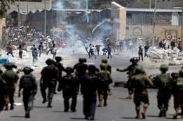 """مواجهات مع الاحتلال جنوبي الضفة نصرة لـ""""الأسرى الستة"""""""