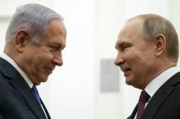 نتنياهو يهاتف بوتين ويبحث معه عدة قضايا