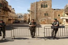 سلطات الاحتلال تمنع عمال لجنة إعمار الخليل من العمل في الحرم الإبراهيمي