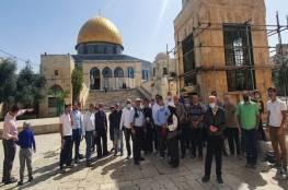 """98 مستوطنا يقتحمون المسجد """"الأقصى"""""""