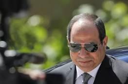 السيسي: القضية الفلسطينية من ثوابت السياسة الخارجية المصرية