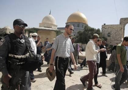 القدس: 123 مستوطنا وطالبا يهوديا يقتحمون الأقصى