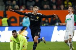 رقم خارق لمهاجم دورتموند في الدوري الألماني