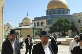 مئات المستوطنين يقتحمون الاقصى في ثالث ايام عيد العرش اليهودي