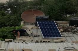 الصين تضئ عشرات المنازل الفقيرة بالطاقة الشمسية في رفح