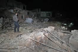 المرصد : 17 قتيلا من الحشد الشعبي في غارة أميركية على سوريا