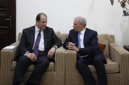 وفد حكومي يلتقي رئيس جهاز المخابرات العامة المصرية في قطاع غزة