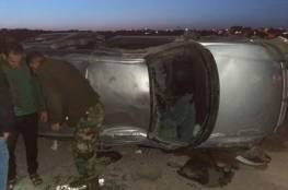 3 إصابات جراء حادث سير ذاتي جنوب بيت لحم