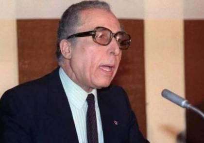 وفاة الشاذلي القليبي الأمين العام الأسبق للجامعة العربية