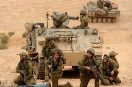 تدريبات عسكرية لقوات الاحتلال بالأغوار الشمالية