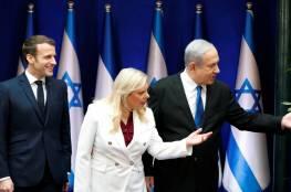 ماكرون من اسرائيل: فرنسا لن تسمح لايران بامتلاك السلاح النووي أبدا