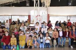 """""""عطاء فلسطين"""" تنهي المرحلة الأولى من مشروع الدعم النفسي للأطفال بدعم من شركة أيبك"""