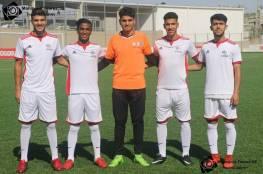 4 لاعبين يغادرون قطاع غزة اليوم الاثنين