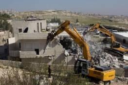 الاحتلال يهدم ثلاثة منازل في قرية الديوك غرب أريحا