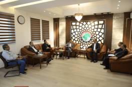 الحايك يبحث مع الاتحاد الأوروبي مشاكل غزة وتسريع الإعمار