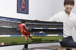 أكبر شاشة ألعاب منحنية في العالم !