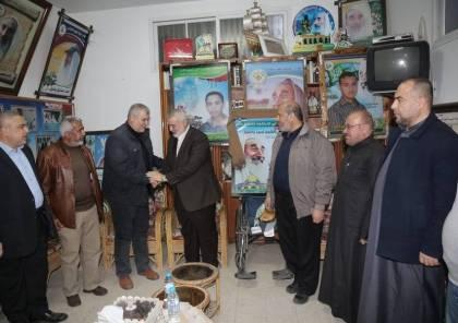 بالصور.. هنية يزور بيت أحمد ياسين في ذكرى استشهاده