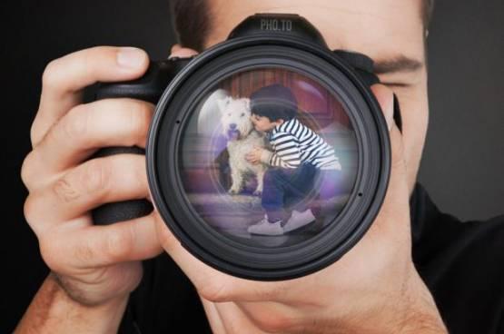كيف تخرج الصور مربعة وعدسة الكاميرا دائرية؟