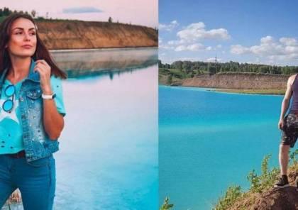 بحيرة روسية سامة مكان جذب للسياح