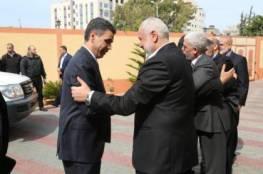 الوفد الامني المصري يصل غزة يوم غد الاحد...
