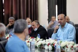 عوض يترأس اجتماعاً لقيادة وزارة الداخلية في غزة