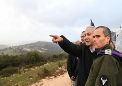 """على وقع التصعيد .. """"نتنياهو"""" يزور بشكل مفاجئ غلاف غزة"""