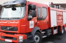الدفاع المدني يصدر توضحيا بشأن الحريق في سنجر بالخليل