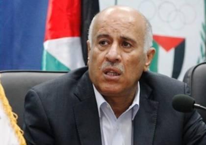الرجوب:  فلسطين ستقلب الطاولة على من يعتقد أنه قادر على تجاهل شعبنا