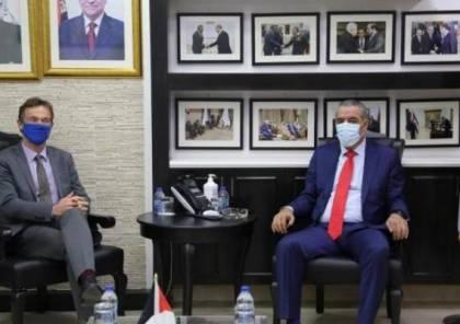 الشيخ يبحث مع ممثل الاتحاد الأوروبي مستجدات الانتخابات الفلسطينية المقبلة