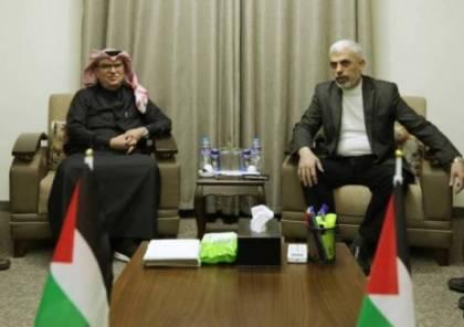 العمادي يلتقي السنوار اليوم.. صحيفة عبرية تكشف عن شرط إسرائيل لإدخال الأموال القطرية لغزة