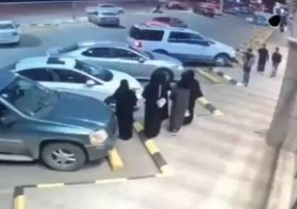 اعتداء سافر على سعودية في الشارع يثير غضبا..فيديو