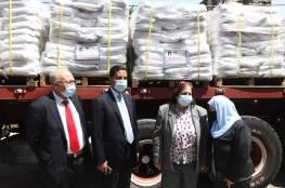 وزارة الصحة تتسلم مساعدات من الأردن.. صور