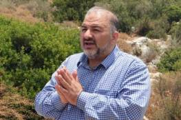 """منصور عباس من """"المشتركة"""": إنهاء الاحتلال شرطنا للتعامل مع أي ائتلاف"""