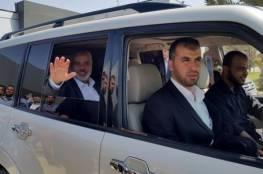 """قيادي في حماس : """"هنية"""" سيغادر غزة قريبا وسيمكث فترة طويلة في الخارج"""