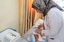 الصحة: فتح ثلاثة مراكز صحية لتطعيم الأطفال بمحافظتي غزة والشمال
