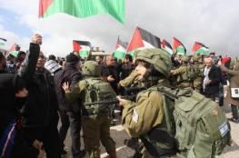 سلفيت: الاحتلال يمنع صلاة الجمعة على أراضي حارس المهددة بالاستيلاء عليها