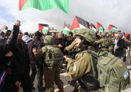 الاحتلال يمنع إقامة صلاة الجمعة في أراضي حارس المهددة بالمصادرة