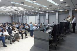 """مؤسسات نابلس ترحب بمبادرة """"النوايا الحسنة"""" لإنهاء الانقسام"""