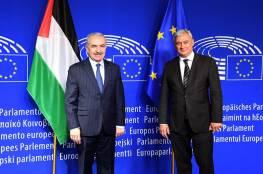 اشتيه يدعو أوروبا لاتخاذ قرار بمنع دخول منتجات المستوطنات الإسرائيلية للأسواق الأوروبية